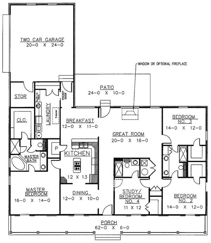 Country Home Plan - 4 Bedrms, 3 Baths - 2110 Sq Ft - #123-1040 on ranch mansions, l-shaped range home plans, ranch remodel before and after, luxury home plans, 3 car garage ranch plans, patio home plans, custom home plans, floor plans, ranch horses, mediterranean style home plans, southern brick home plans, rustic home plans, ranch decks, large family home plans, 1 600 sf ranch plans, new ranch style home plans, rambler style home plans, ranch blueprints, log home plans, cabin plans,