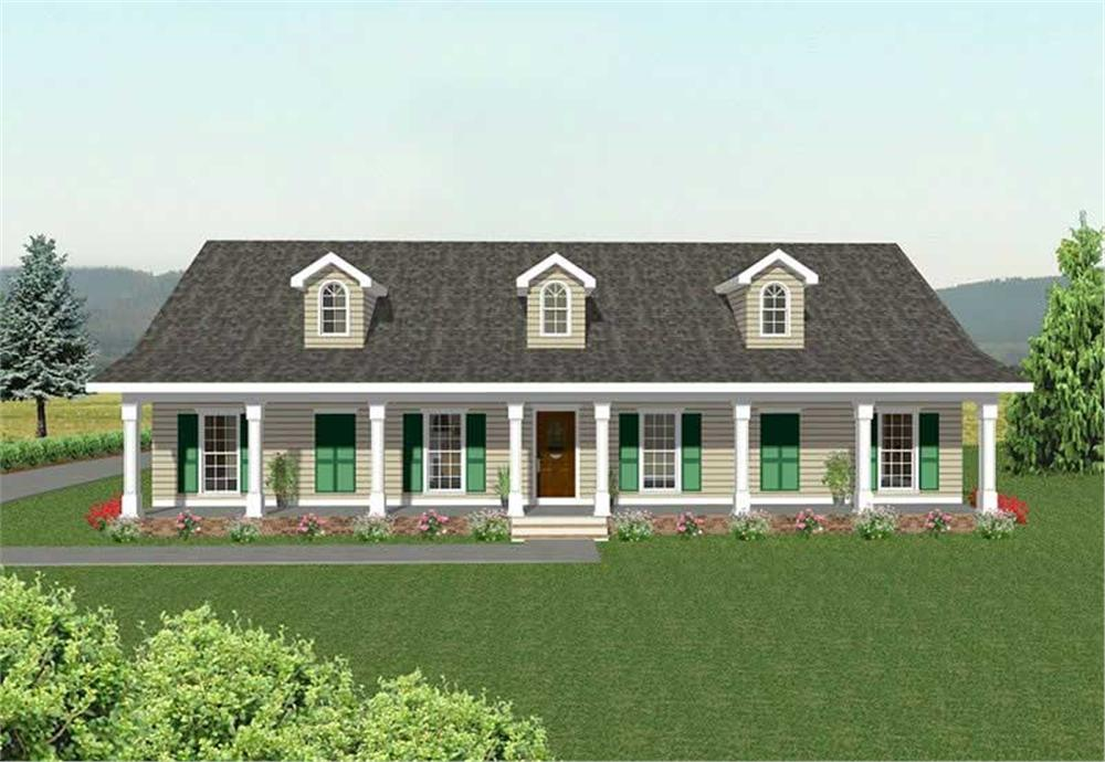 Main image for house plan # 2215
