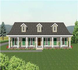 House Plan #123-1041
