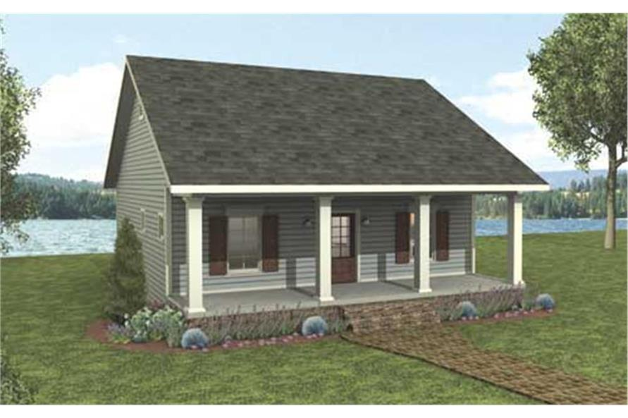 123-1042: Home Plan Rendering