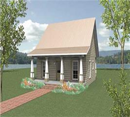 House Plan #123-1045