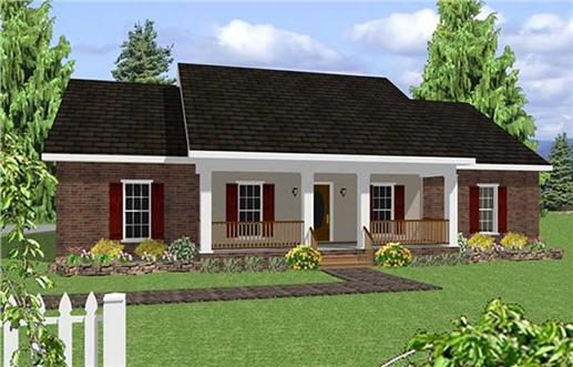 Main image for house plan # 4083