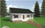 View house Plan#123-1050