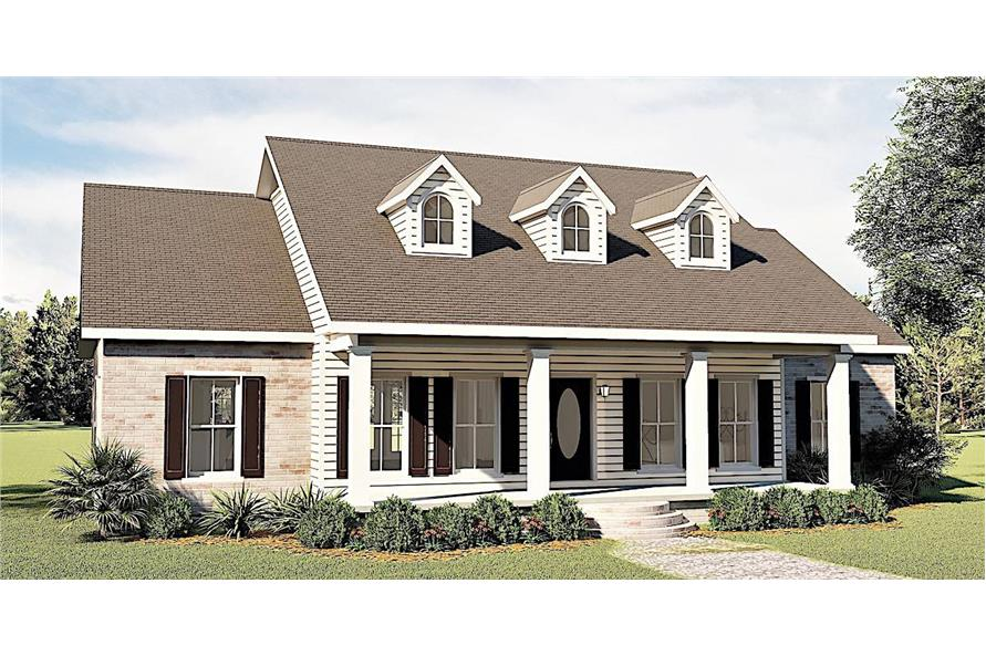 Left View of this 3-Bedroom,1785 Sq Ft Plan -123-1051