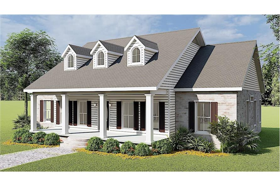 Right View of this 3-Bedroom,1785 Sq Ft Plan -123-1051