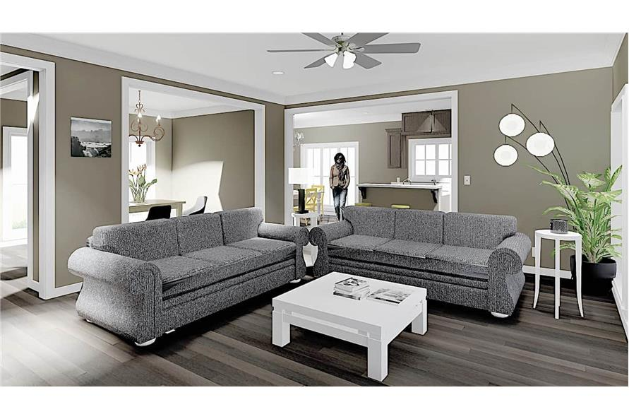 Great Room of this 3-Bedroom,1785 Sq Ft Plan -123-1051