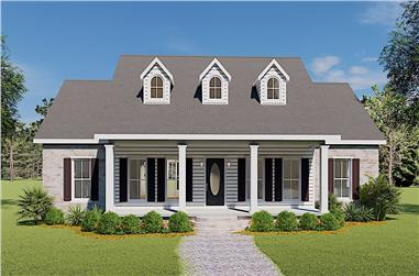 3-Bedroom, 1785 Sq Ft Country Home - Plan #123-1051 - Main Exterior