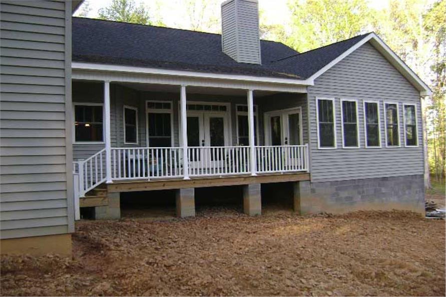 Home Exterior Photograph of this 4-Bedroom,2818 Sq Ft Plan -123-1056