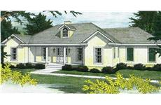 Main image for ranch home plans # 2217