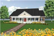 Main image for house plan # 2220