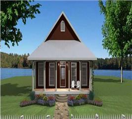 House Plan #123-1063