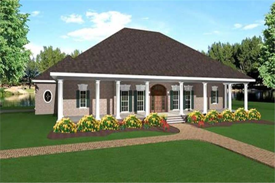 Main image for house plan # 16872