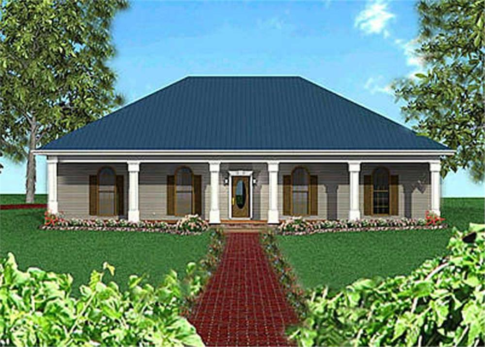 Main image for house plan # 16831