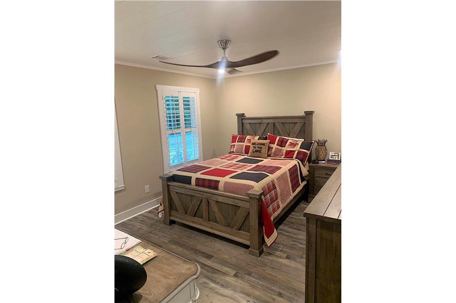 Bedroom of this 2-Bedroom,1292 Sq Ft Plan -123-1071