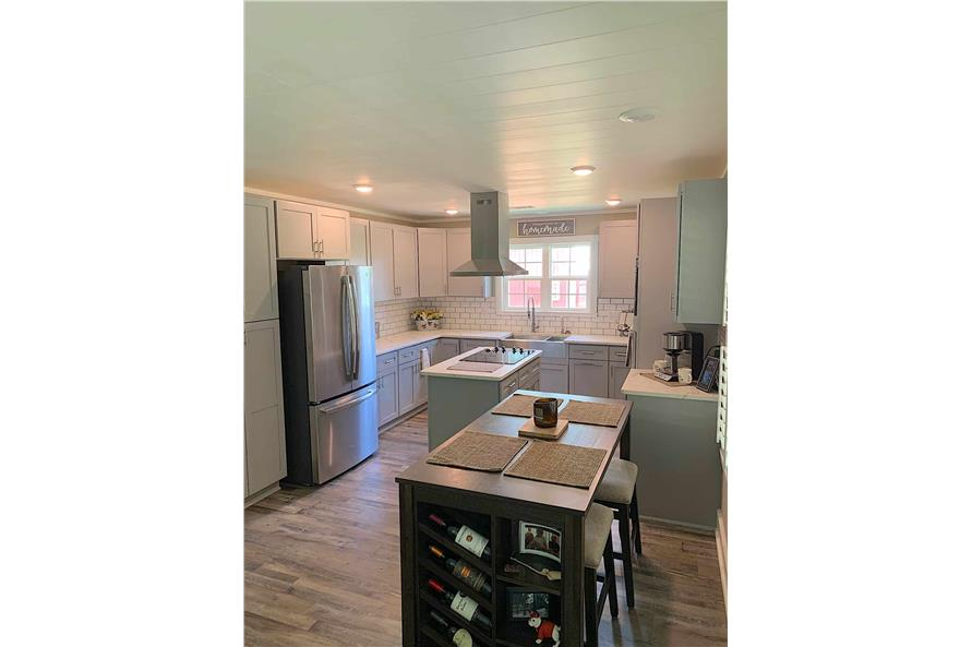Kitchen: Breakfast Nook of this 2-Bedroom,1292 Sq Ft Plan -123-1071
