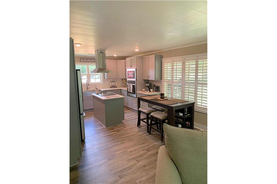 Kitchen of this 2-Bedroom,1292 Sq Ft Plan -123-1071