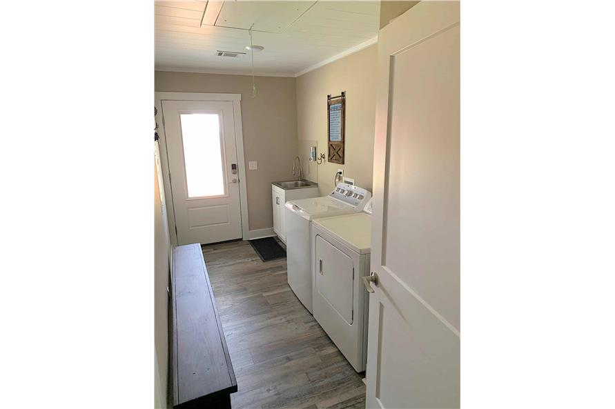 Laundry Room of this 2-Bedroom,1292 Sq Ft Plan -123-1071