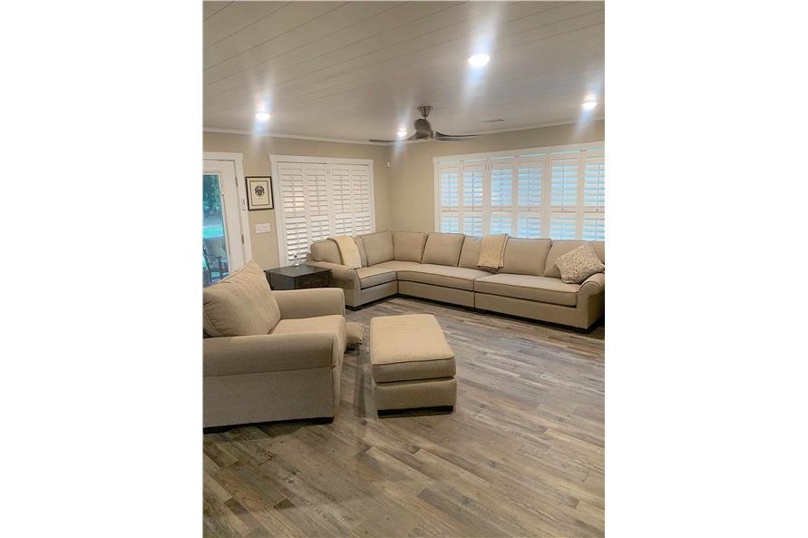 Great Room of this 2-Bedroom,1292 Sq Ft Plan -123-1071