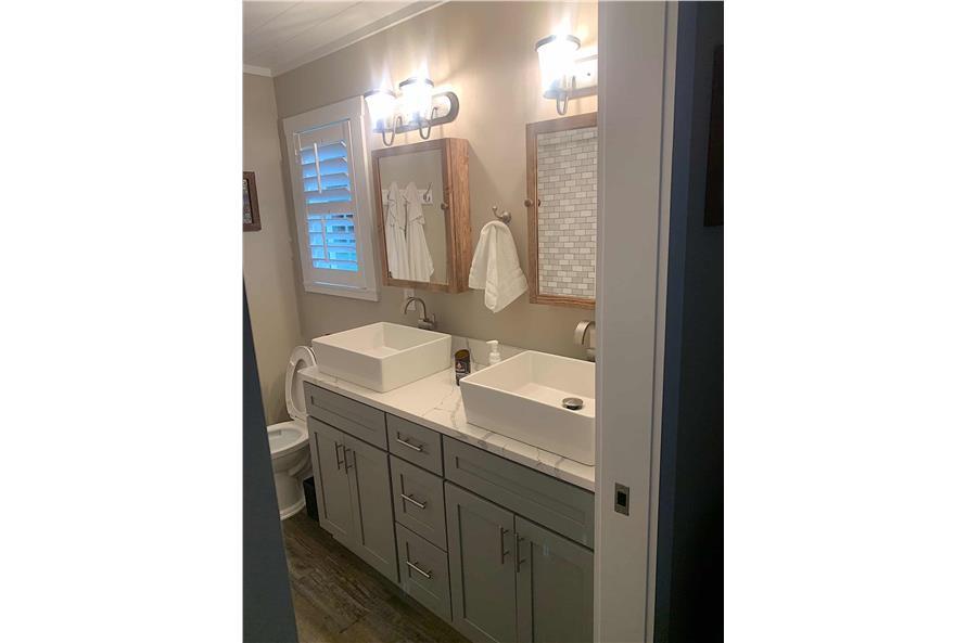 Master Bathroom: Sink/Vanity of this 2-Bedroom,1292 Sq Ft Plan -123-1071