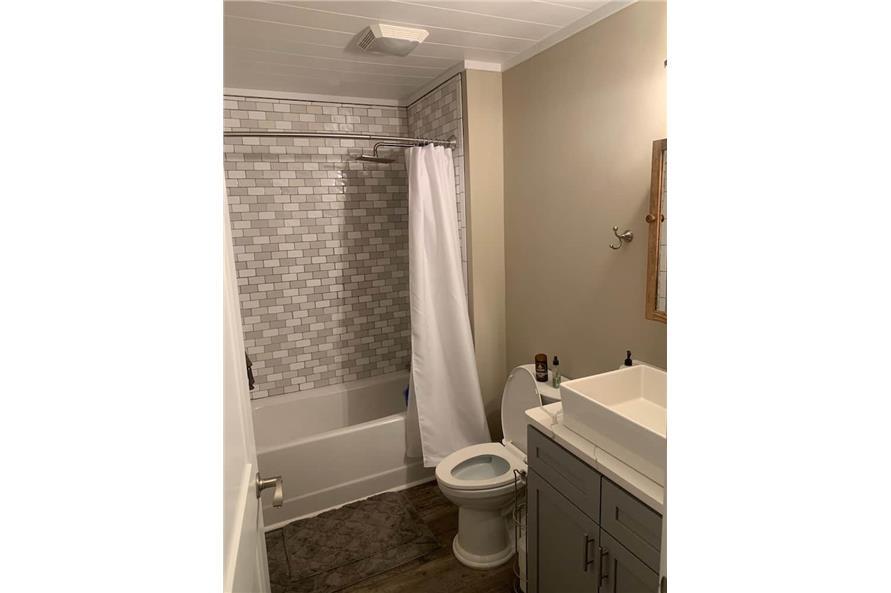 Master Bathroom: Tub of this 2-Bedroom,1292 Sq Ft Plan -123-1071