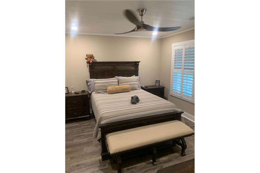 Master Bedroom of this 2-Bedroom,1292 Sq Ft Plan -123-1071