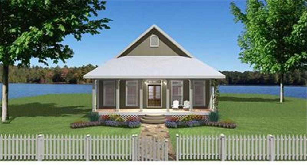 Main image for house plan # 19711