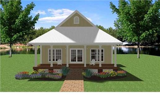 Main image for house plan # 19713