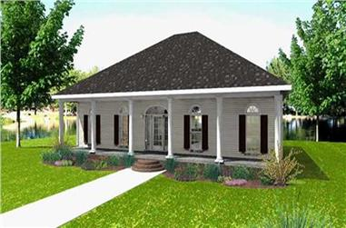 Main image for house plan # 19714