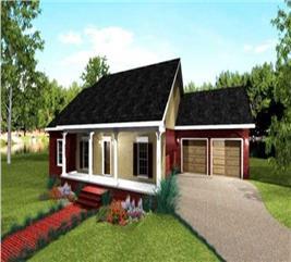 House Plan #123-1078