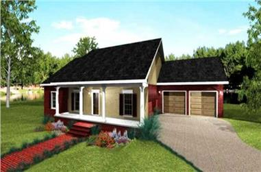Main image for house plan # 19716