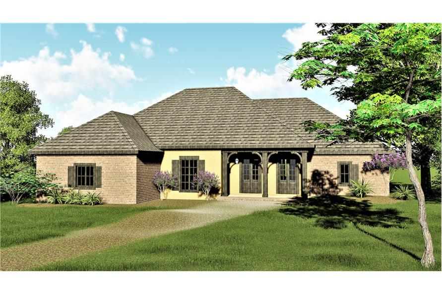 123-1079: Home Plan Rendering