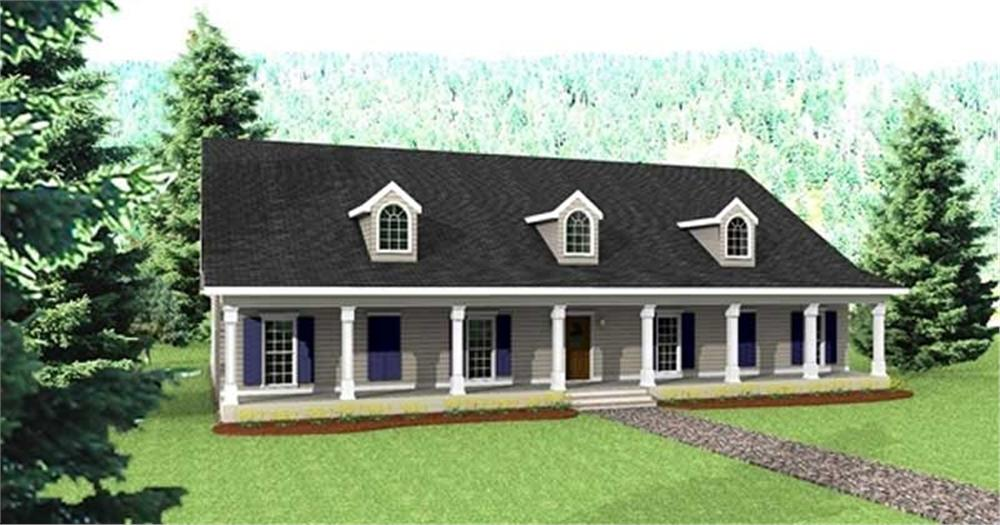 Main image for house plan # 16876