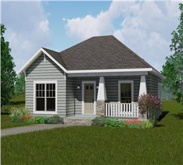 House Plan #123-1083