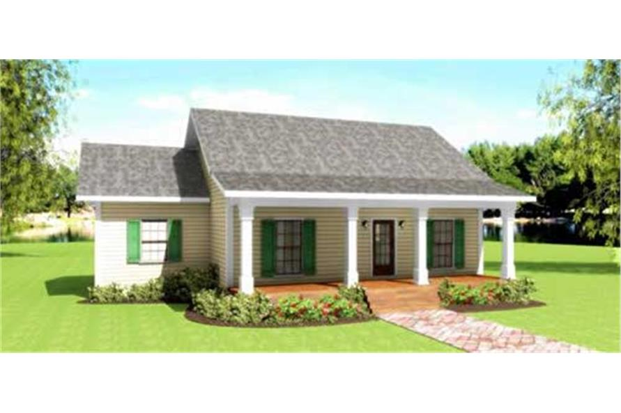 123-1084: Home Plan Rendering