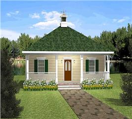 House Plan #123-1085