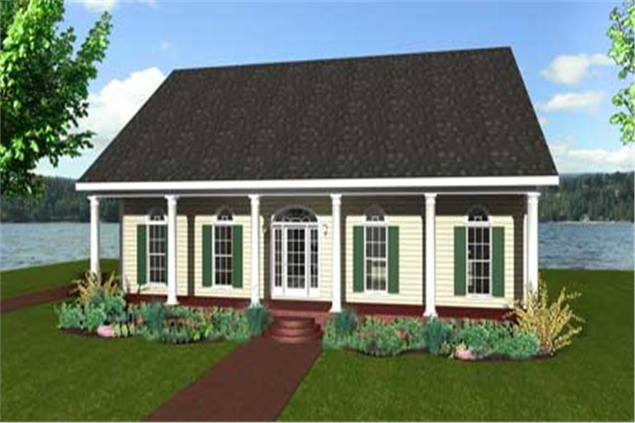 Main image for southern houseplans # 123-1092