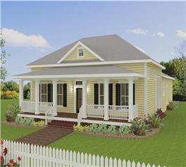 House Plan #123-1093