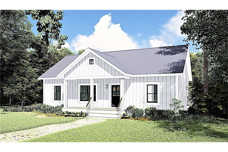 Home Exterior Photograph of this 3-Bedroom,1311 Sq Ft Plan -1311
