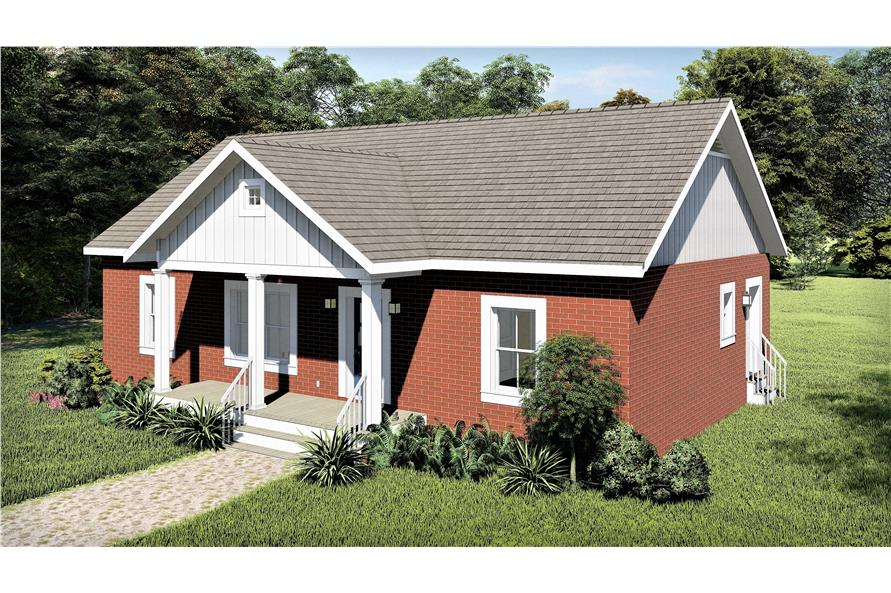 Right View of this 3-Bedroom,1311 Sq Ft Plan -1311