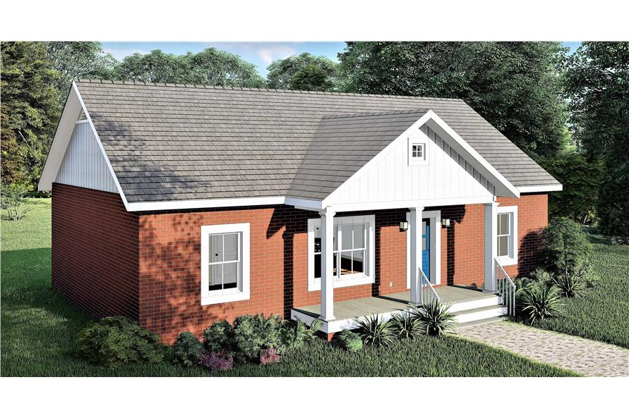 Left View of this 3-Bedroom,1311 Sq Ft Plan -1311