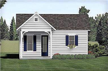 3-Bedroom, 1320 Sq Ft Ranch Home - Plan #123-1101 - Main Exterior