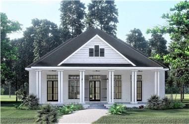 3-Bedroom, 2160 Sq Ft Ranch Home - Plan #123-1104 - Main Exterior