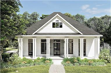 3-Bedroom, 2160 Sq Ft Ranch Home - Plan #123-1104 - Main Exterior