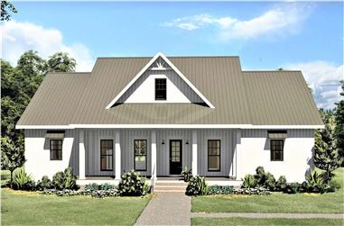 3-Bedroom, 2582 Sq Ft Ranch Home - Plan #123-1113 - Main Exterior