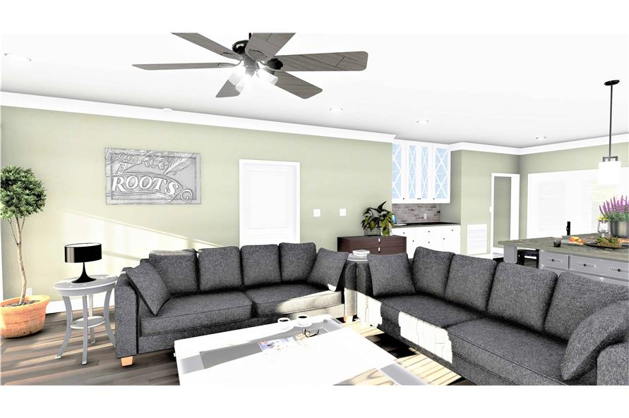 Great Room of this 3-Bedroom,2090 Sq Ft Plan -2090