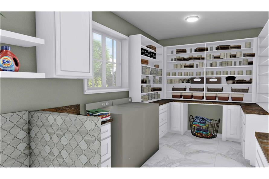 Laundry Room of this 3-Bedroom,2090 Sq Ft Plan -2090