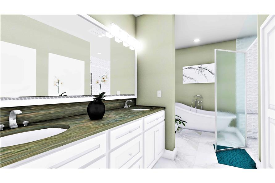 Master Bathroom of this 3-Bedroom,2090 Sq Ft Plan -2090