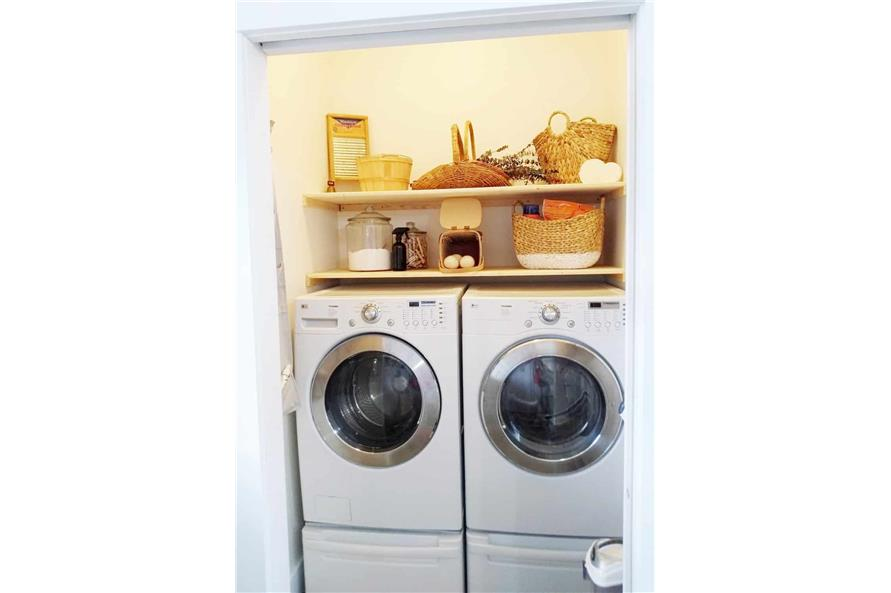 Laundry Room of this 3-Bedroom,1035 Sq Ft Plan -123-1116