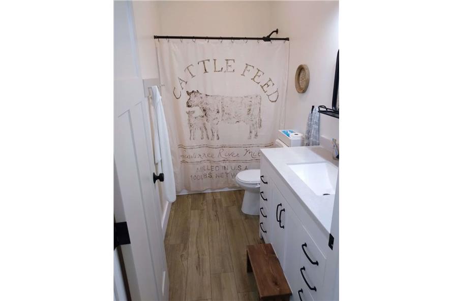 Bathroom of this 3-Bedroom,1035 Sq Ft Plan -123-1116