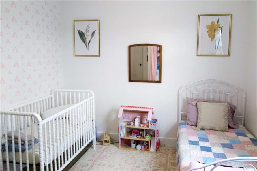 Bedroom: Kids of this 3-Bedroom,1035 Sq Ft Plan -123-1116